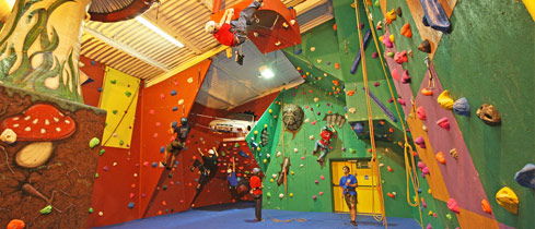 Our multi-award-winning Indoor Activity & Climbing Centre is open all year round and offers a wide variety of fun-filled and educational activities!