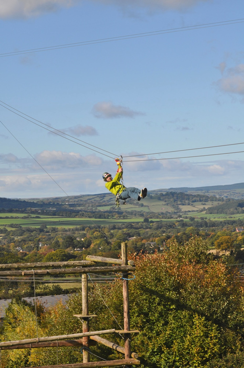 Sky Trek Challenge – Llangorse Multi Activity Centre